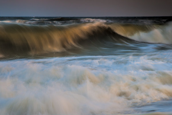 On the south side of Fire Island, you've got the ocean beaches with jetties and crashing waves, presenting more great opportunities.  Canon EOS-1D Mark III, EF 24-105 f/4L.  1/3 sec., f/22, ISO 50.