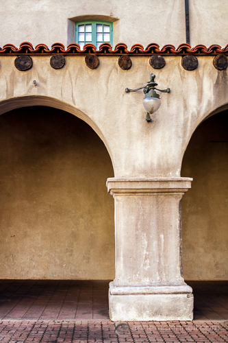 Archway in Balboa Park, San Diego, California by Anne McKinnell