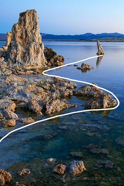 Mono Lake, California by Anne McKinnell