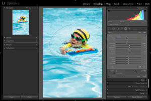 Lightroom 5 Radial Filter Usage