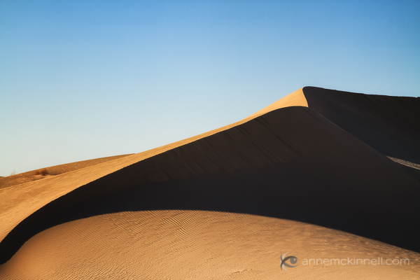 Imperial Sand Dunes, California by Anne McKinnell