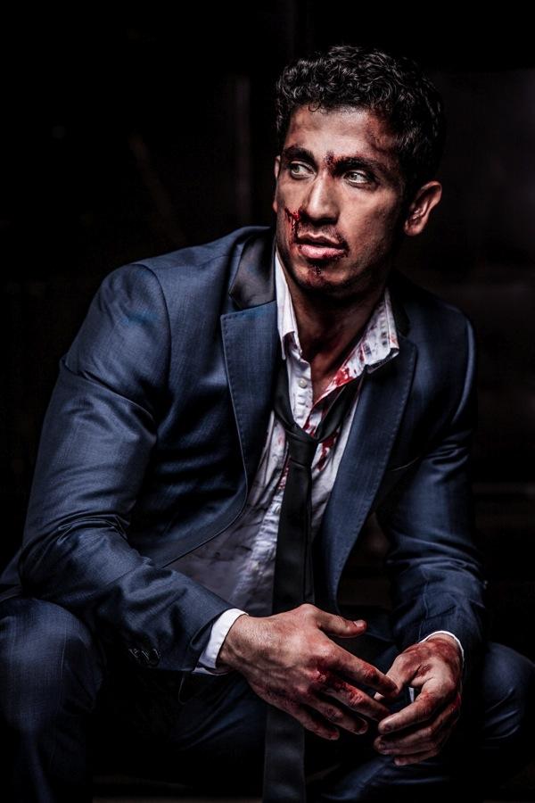 Australian actor Firass Dirani in my Fight Club inspired shoot @firassd (twitter) @firazzle (Instagram).