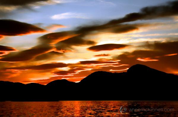 Desolation Sound Marine Park, British Columbia, by Anne McKinnell
