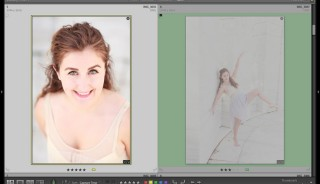 Using Lightroon's Grid View