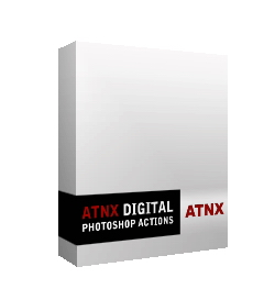 """""""Photoshop Actions"""" from ATNX Digital provides an affordable, user-friendly actions alternative for Photoshop users."""