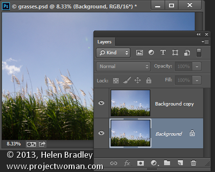 "using the ""blend if"" feature in Photoshop"