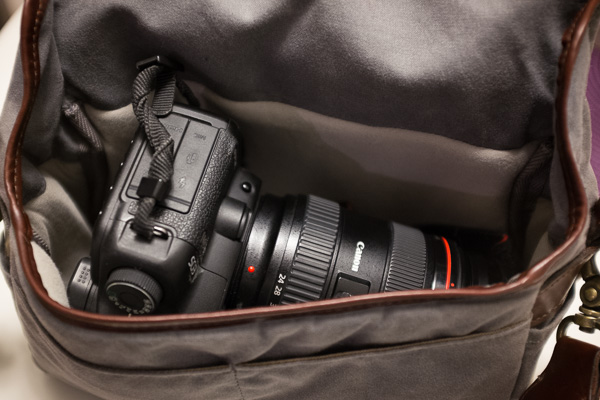 If you are ambitious - 5D Mark II and 24-70mm EF lens.