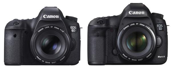 review comparison canon 5d markiii vs the canon 6d