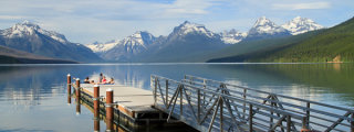 Lake McDonald, Glacier National Park, Montana, by Anne McKinnell