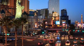 New York New York, Las Vegas by Anne McKinnell