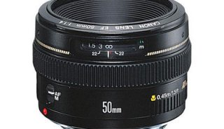 Canon 50mm f1.4 lens