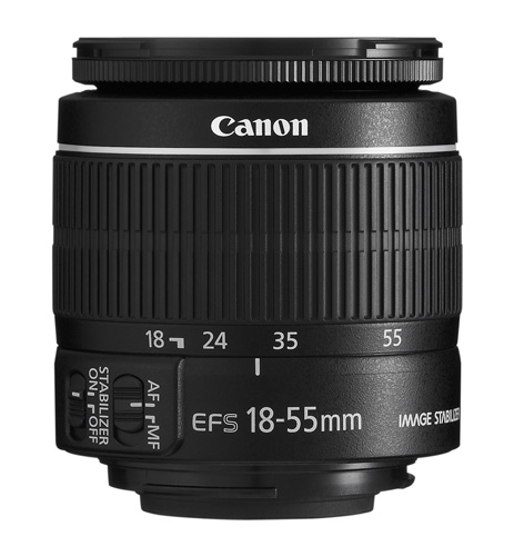 Canon lens without distance scale