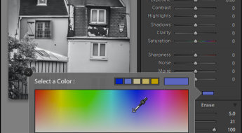Select a color to tint the image with from the Color selector