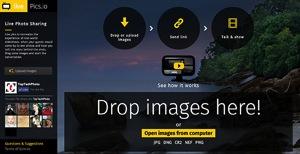 LivePicsio Screen