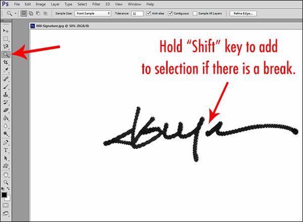 Как сделать свою подпись фото