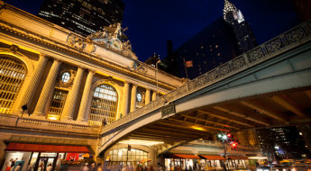 Grand Central and Chrysler Building, NYC.