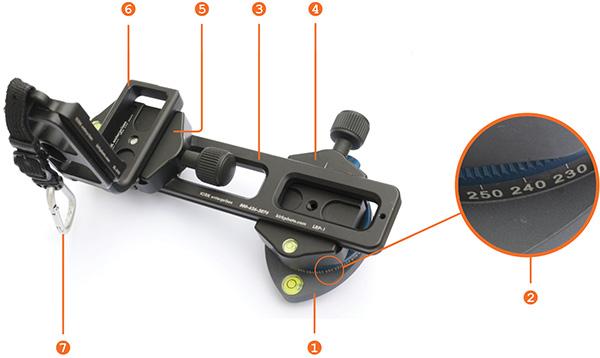 Hdr vertorama nodal point adapter