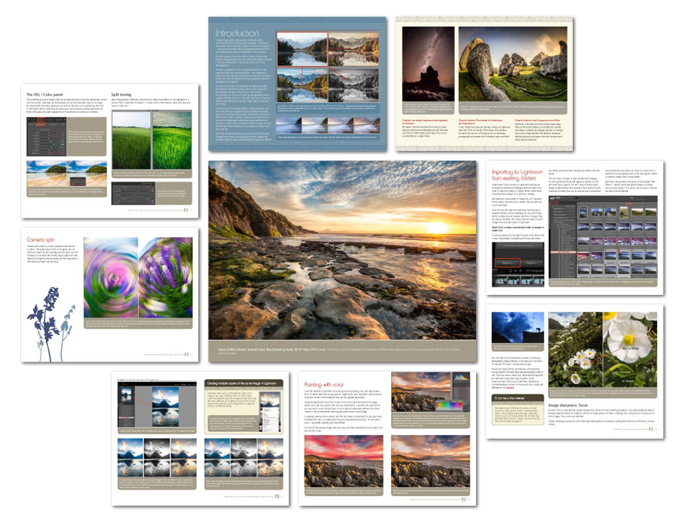 Landscape Photography Guide - Contents