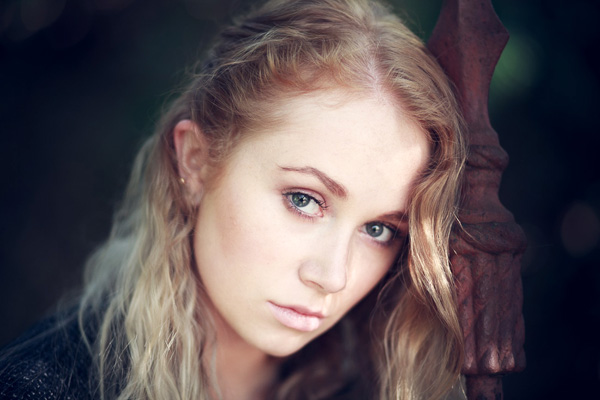 Natural light portrait