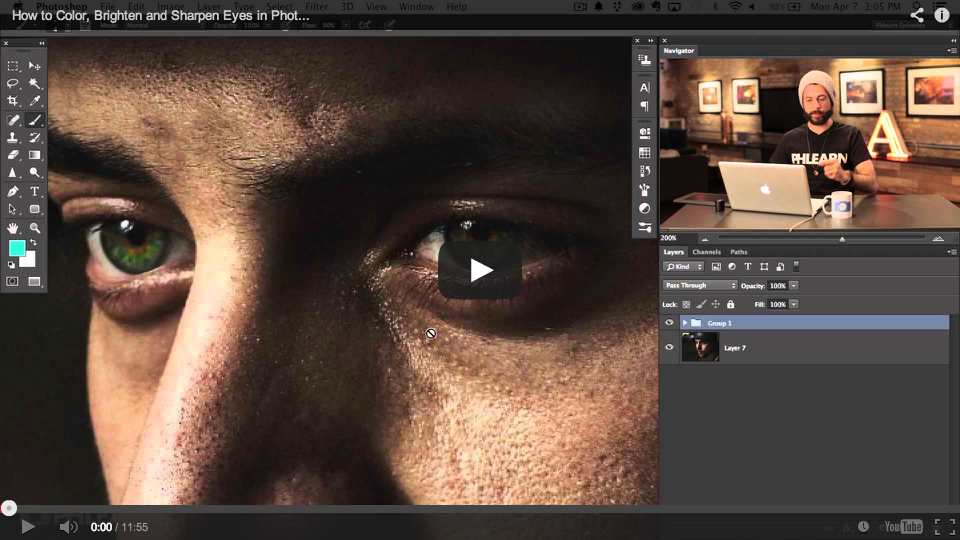 Restoring Old Photos in Adobe Photoshop - The