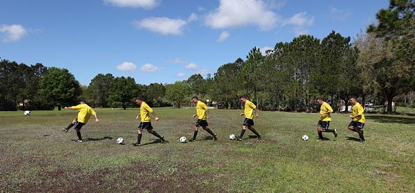 18 soccer line