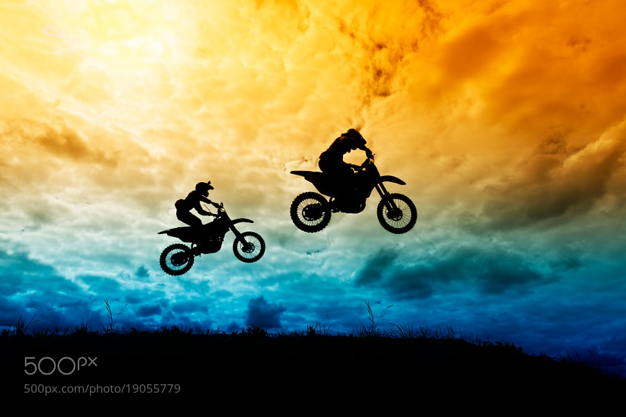 Photograph Motocross by Daniil Lebedev on 500px