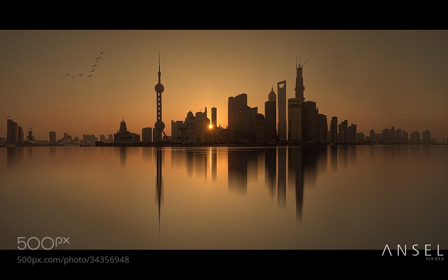 Photograph Shanghai Silhouettes by Jonathan Danker on 500px