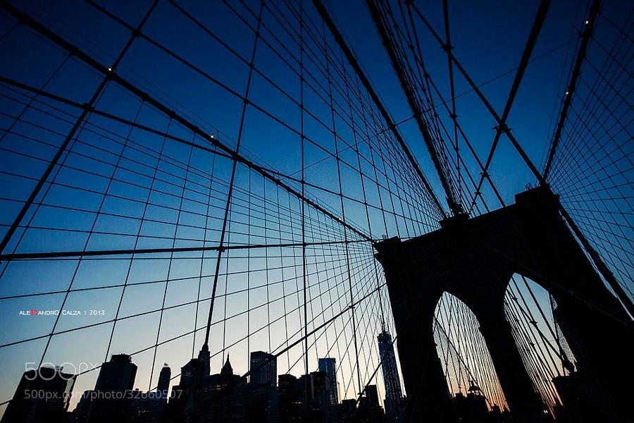 Photograph Brooklyn Bridge by Alessandro Calza on 500px