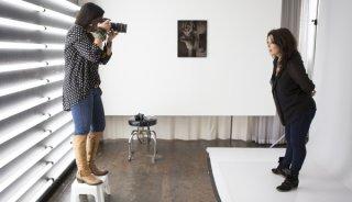 Photographing Danielle LaPorte