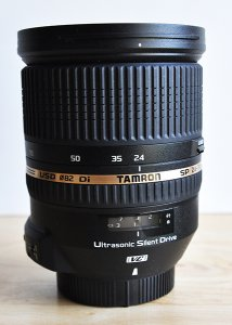The Tamron 24-70mm f/2.8 Di VC USD is a great lens choice for both professionals and enthusiasts.