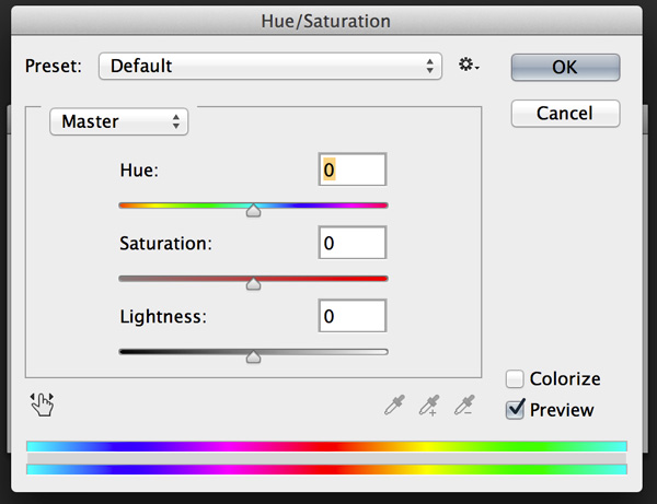 hue-saturation