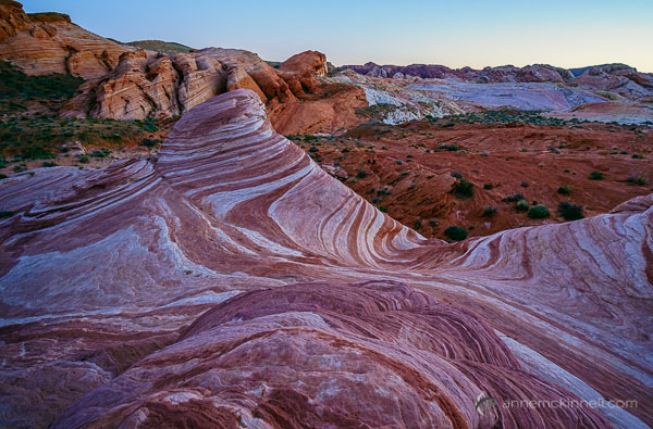 Fire Wave at Valley of Fire State Park, Nevada, by Anne McKinnell