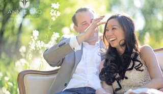San-Francisco-East-Bay-engagement-photography-man-helps-move-fiancees-hair-out-of-her-face