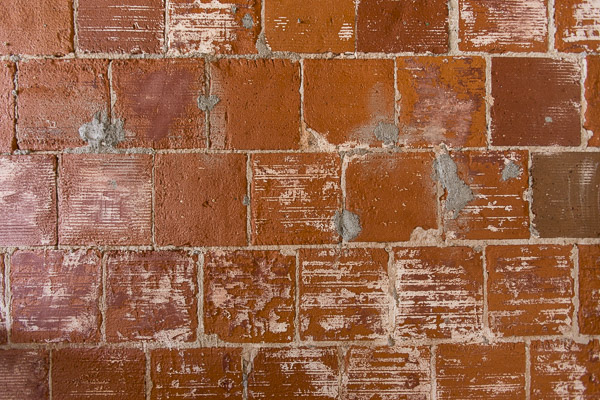 hacking photography, brick wall, lens correction, barrel distortion