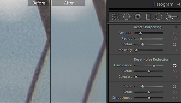 Photography how to do noise reduction in lightroom for Reduce sound in a room