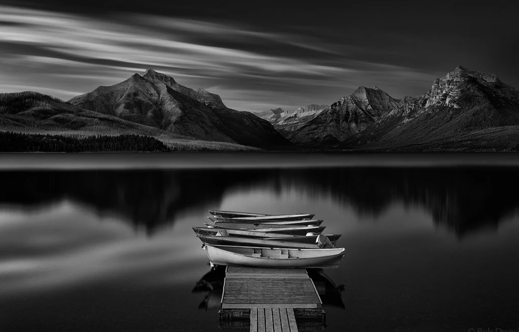 Some Punchy Black And White Landscape Photos To Oooo And