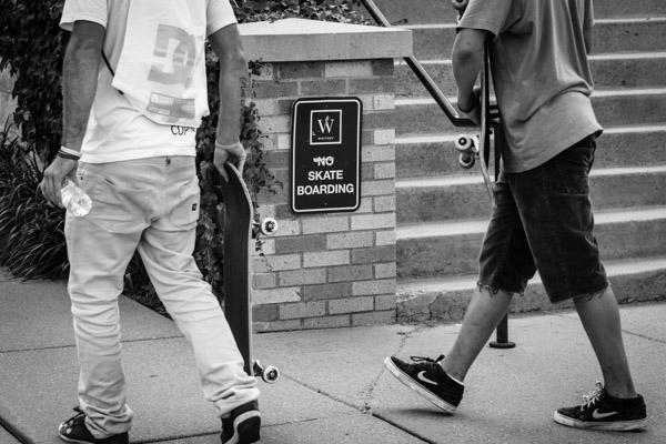 using humor street photography