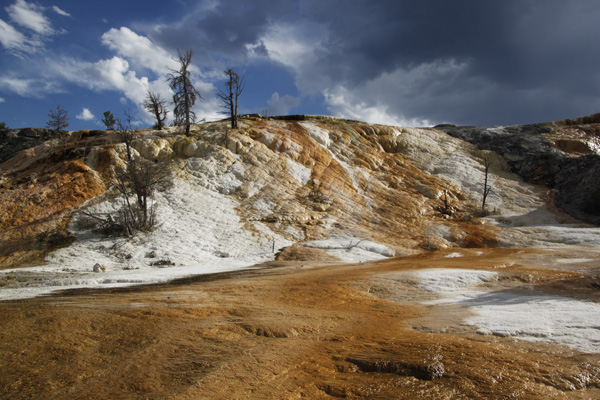 Yellowstone, Mammoth Hot Springs, landscape, photography, National Park, wide angle, Tamron18-270mm