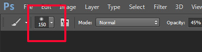 brushes context menu