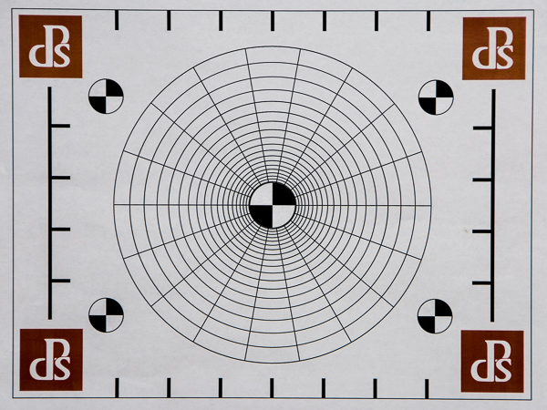 Create a test pattern similar to this one.