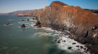 Marin County Headlands with LAB adjustments