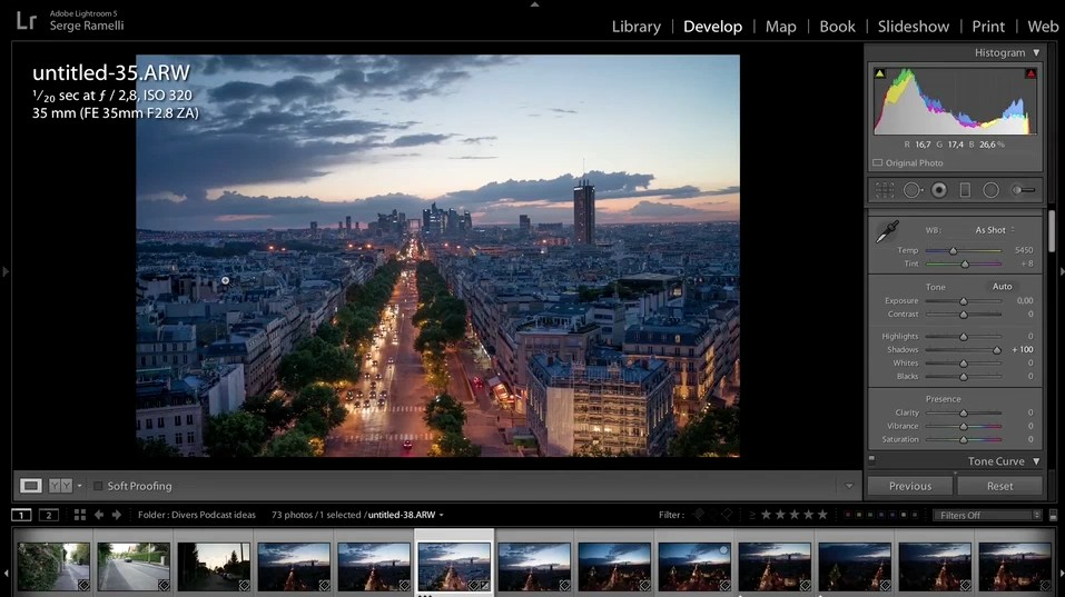 Tips For Retouching A Night Photograph Using Lightroom