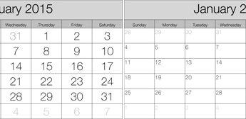 Create a calendar in the Lightroom Print module