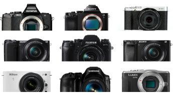 popular compact system cameras