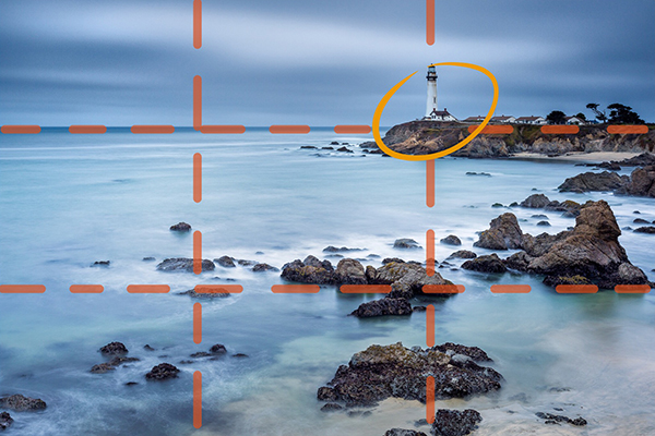 how to find the horizon line in a photograph