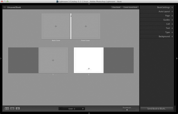 How to create a simple photo book in Lightroom