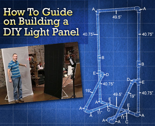 How To Make A Diy Light Panel Or Scrim