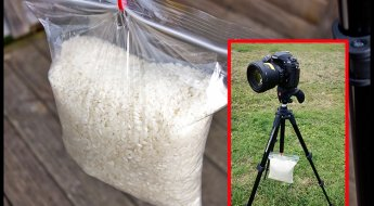 DIY-sandbag-on-tripod