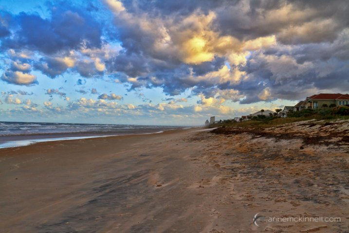 Ormond Beach by Anne McKinnell