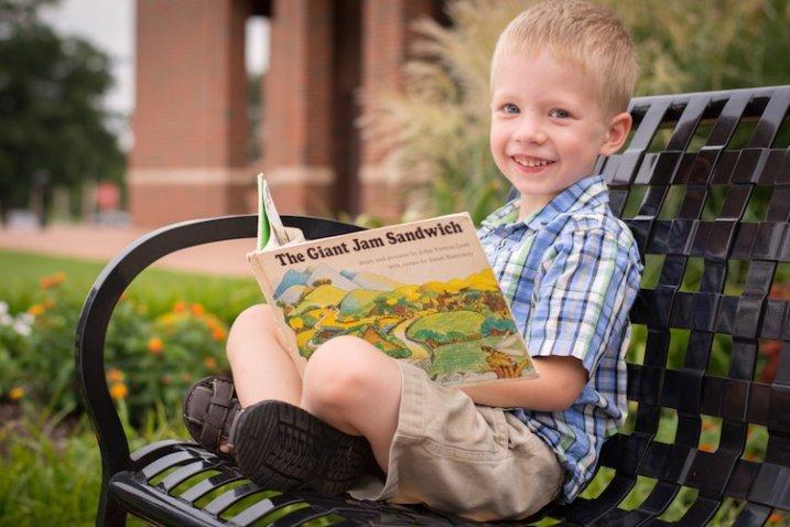 child-bench-book